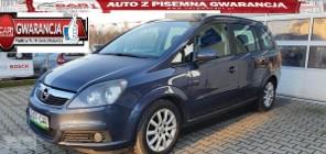 Opel Zafira B 1.8 140 KM alufelgi klima zarejestrowany gwarancja