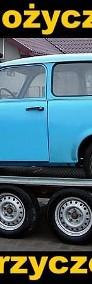 Przyczepa do przewozu samochodów Laweta samochodowa zabudowana-4