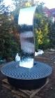 """Ściana wodna , fontanna Fala zwierciadło 180cm fontanna Eska"""" Fontanna na taras."""