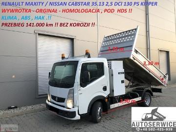 Nissan Cabstar CABSTAR NT400 MAXITY WYWROTKA KIPPER POD HDS KLIMA
