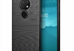 Etui Carbon do Nokia 7.2 / Nokia 6.2 Czarny