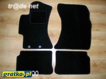 Subaru Impreza III od 2008 do 2011 najwyższej jakości dywaniki samochodowe z grubego weluru z gumą od spodu, dedykowane Subaru Impreza