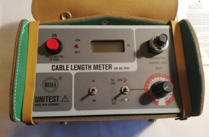 Cable length meter . CAT. NO. 2003 / Unitest BEHA / made in Germany  produkt nieużywany FV
