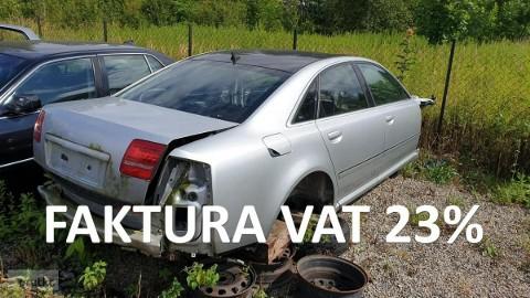 Audi A8 II (D3) Auto odzyskane po kradzieży Komplet dokumentów