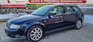 Audi A4 II (B6) 1.8 Turbo 163 KM jasny środek alufelgi gwarancja