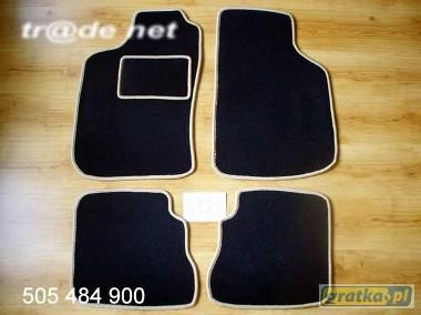 SAAB 9-3 I 1998 - 08.2002 Sport Sedan, Sport Kombi najwyższej jakości dywaniki samochodowe z grubego weluru z gumą od spodu, dedykowane Saab 9-3-1