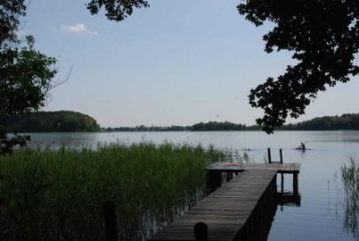 Całoroczny Domek nad jeziorem Ińsko ( W Ińskich Parkach Krajobrazowych )