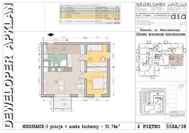 Nowe mieszkanie Rzeszów Słocina, ul. Henryka Wieniawskiego 55
