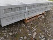 Podmurówka cegiełka 248x20x5cm murek ogrodzenia