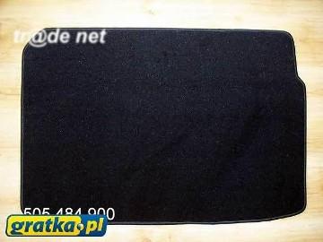 CITROEN NEMO 5 os. od 2008 r. najwyższej jakości bagażnikowa mata samochodowa z grubego weluru z gumą od spodu, dedykowana Citroen Nemo