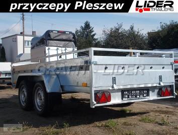 BR-001 przyczepa MA30T, 300x150x45, DMC 750kg, 2x oś 750kg, przyczepa LIDER TRAILERS