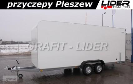 TP-034 przyczepa TFS 550T.01, 550x200x210cm, furgon izolowany, DMC 2700kg