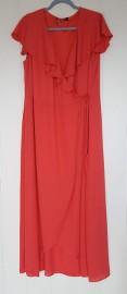 Nowa sukienka Dorothy Perkins 50 5XL maxi długa koralowa na wesele pomarańczowa
