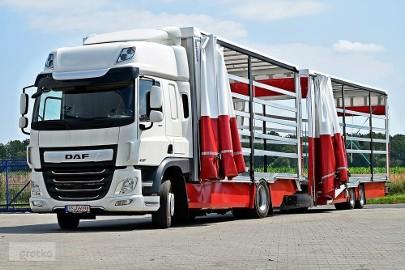 DAF FC320 plandeka autolaweta międzynarodówka - autotransporter DOSTĘPNY OD RĘKI