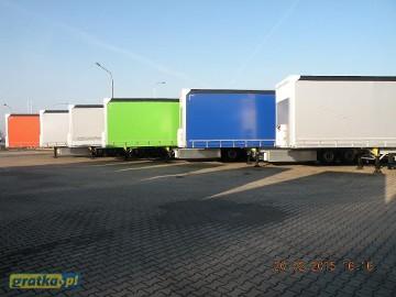 Schmitz Cargobull firanka dostępne od ręki Schmitz