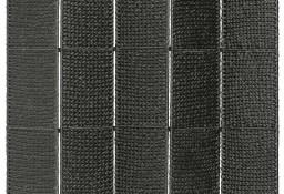 vidaXL 5-panelowy parawan pokojowy, czarny, 193x160 cm, hiacynt wodny 247352