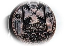Rzadka stara pieczęć drewniana okolicznościowa! Duży Krzyż Niemcy