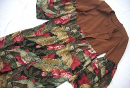 Sukienka Długa Zapinana 36 38
