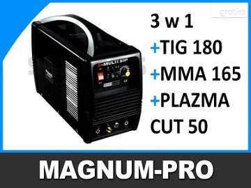 Wielofunkcyjna spawarka TIG 180 MMA 165 plazma 50A