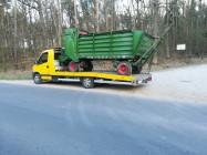 Przewóz kosiarek Kałuszyn transport talerzówek maszyn rolniczych Kałuszyn