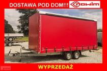 15.432 Nowim OKAZJA Przyczepa ciężarowa towarowa uniwersalna 10 europaletowa hamowana przestrzenna DMC 3500 kg 5,2 m x 2,1 m wersja ...