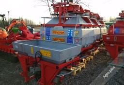 Rozsiewacz do nawozów Grass-rol Ocynkowany 600 litrów Hydraulika Plandeka Transport