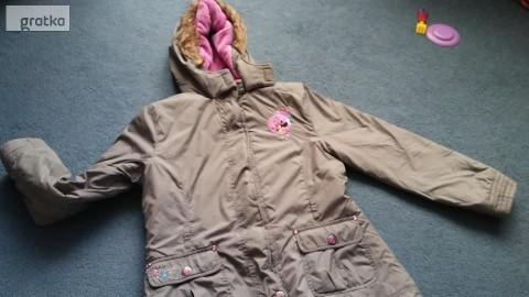 kurtka dziewczęca 128 C&A jesienna