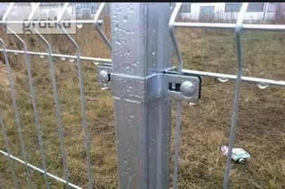 Panele przęsła ogrodzeniowe 153x250cm fi4mm ocynk ogniowy