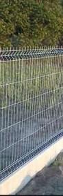 Panele przęsła ogrodzeniowe 153x250cm fi4mm ocynk ogniowy-3