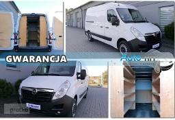Opel Movano L2H2 Klima GPS Warsztat/Regały Ład:1610kg 136KM
