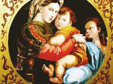 Madonna della seggiola - W.Kowal - wg - Raphaela-1