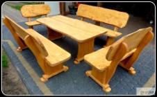Meble ogrodowe drewniane,barowe stół,hustawka,ławki,dostawa 100zł