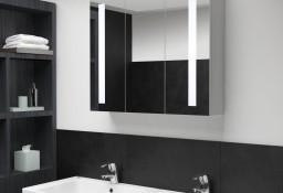 vidaXL Szafka łazienkowa z lustrem i LED, 89 x 14 x 62 cm285126