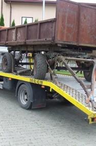 transport lawetą przyczep rozrzutników maszyn rolniczych Kałuszyn-2
