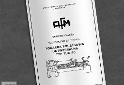 Instrukcja DTR: Tokarka TUG 40