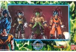 Dragon Ball Evolve Zestaw 3 Figurki Vegeta Broly Goku