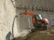 Profiler do ścian SIMEX dla koparek o masie 3,5-7 ton
