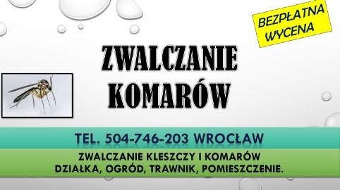Odkomarzanie działki, Wrocław, tel. 504-746-203. Cena.  Firma zwalczająca komary na działce i ogrodzie. Opryski terenu przeciw komarom