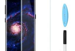 Szkło Hartowane Samsung GALAXY S8 / S9 PLUS NA CAŁY EKRAN + LAMPA UV