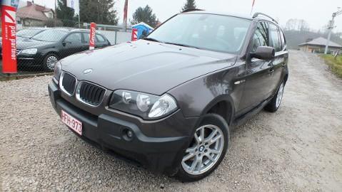 BMW X3 I (E83) =panorama dach=skóra=bezwypadku=gwaranc