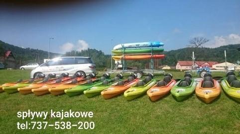 Wypożyczalnia kajaków i pontonów