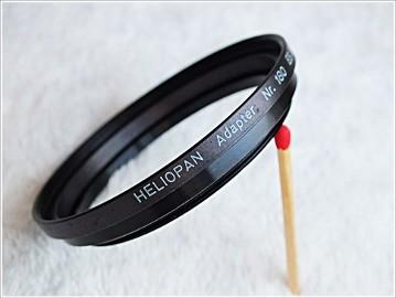 Adapter fotograficzny Heliopan gwint 52-55 Nr.180 ES 58/55