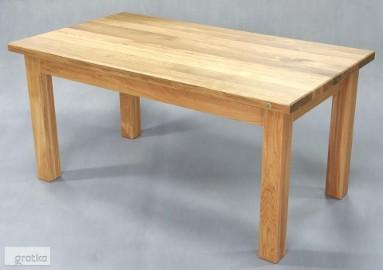 stół CLASSICO dębowy lity dąb naturalny olejowany