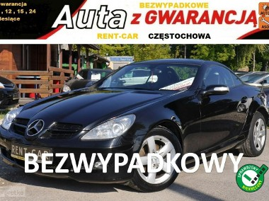 Mercedes-Benz Klasa SLK R171 1.8 KOMPRESSOR*163PS*OPŁACONY*Bezwypadkowy*Skóra*GWARANCJA24Miesiące-1