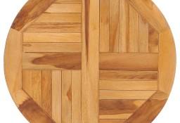 vidaXL Obrotowa deska do serwowania, lite drewno tekowe49386