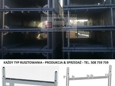 RUSZTOWANIE Systemowe 124m2 od 4400 zł KAŻDY TYP Rusztowania Producent-1