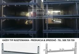 RUSZTOWANIE Systemowe 124m2 od 4400 zł KAŻDY TYP Rusztowania Producent