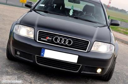 Audi A6 II (C5) __AGRESYWNA LIMUZYNA__S6__4.2 Quattro__Skóry_Grzane fotele x4_Drewno
