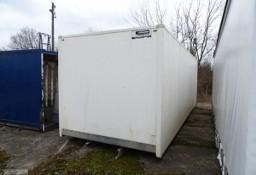 Zabudowa kontener 18 euro pale sprowadzony , drzwi boczne