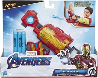 Nerf Repulsor Blaster ENDGAME IRON MAN Avengers Rękawica Wyrzutnia